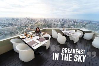 กินมื้อเช้าชมพระอาทิตย์ขึ้น @Sky Box ชั้น 81 ใบหยก สกาย +ห้องพัก บุฟเฟ่ต์มื้อเย็น นวด มินิกอล์ฟ ดริ้ง Roof Top Bar 1,500 บาท คุ้มเกิ้น !!!
