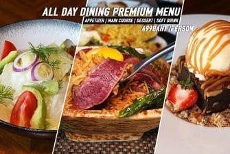 ทำงานสีลมเบื่ออาหารข้างทาง เปลี่ยนบรรยากาศกินอาหารโรงแรม @Crowne Plaza Premium Set Menu ราคาน่าคบ กันมั๊ยครับ #มีบริการ Delivery ด้วยน้า