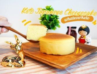 ชีสเค้กคีโต (Keto Japanese Cheesecake) @whateverketo ไม่ใช่สายคีโตก็กินได้ อร่อยด้วย ลองสั่งมาชิมกันมั๊ยครับ ^^