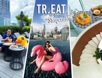 พักผ่อนเต็มๆ Staycation Tr.EAT by Saneh Jaan กินอาหารไทยมิชลิน 1 ดาว เล่น HarborLand ช็อปปิ้ง สยาม คุ้มมากกกก @Sindhorn Midtown Hotel Bangkok
